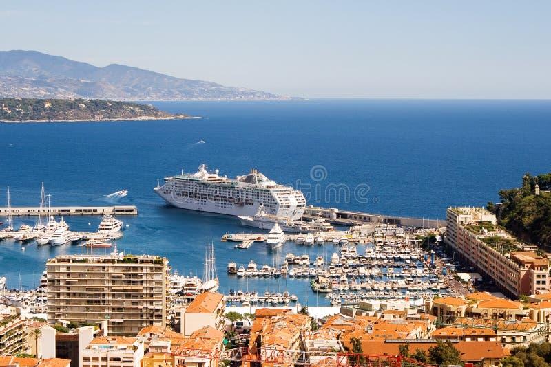 Monaco harbour - 2 stock image