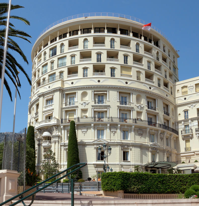 Monaco - Hotel de Paris royalty free stock images