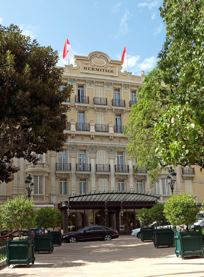 Monaco - Hotelkluis Redactionele Stock Foto