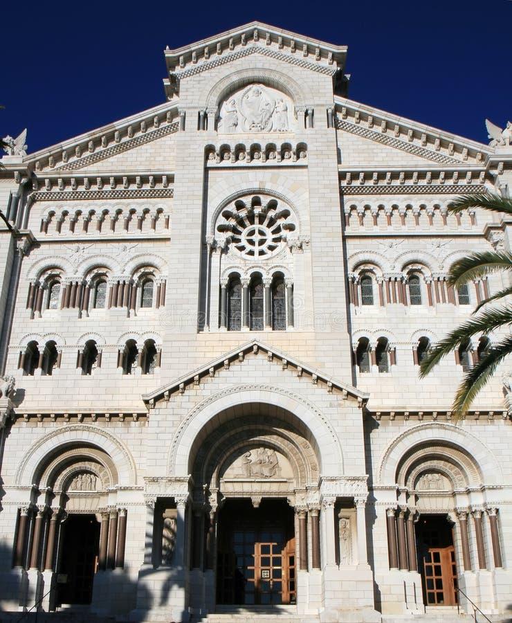Monaco-Kathedrale lizenzfreie stockfotos