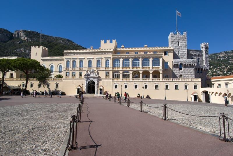 Monaco książe Pałac fotografia stock