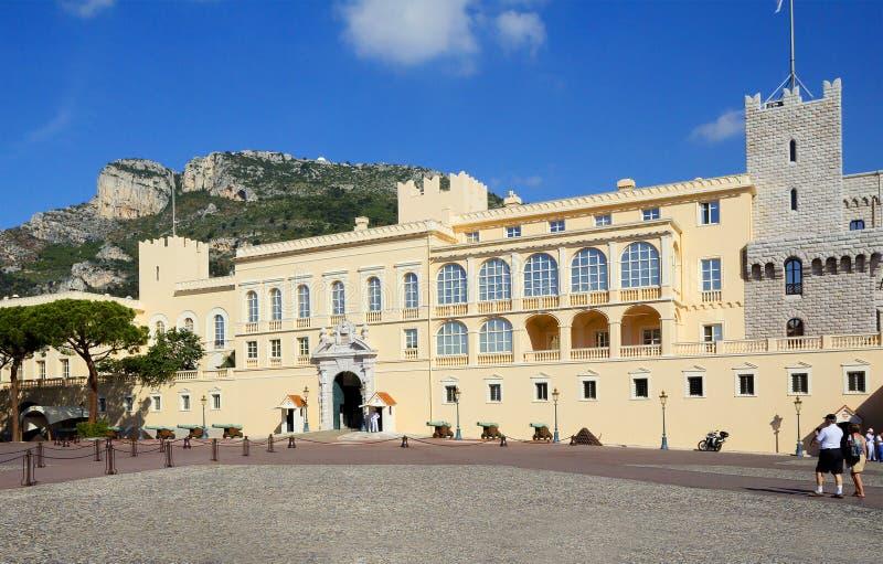 Monaco, książe ` s pałac fotografia stock