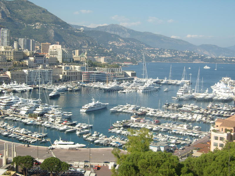 Monaco, Monte Carlo lizenzfreie stockfotografie