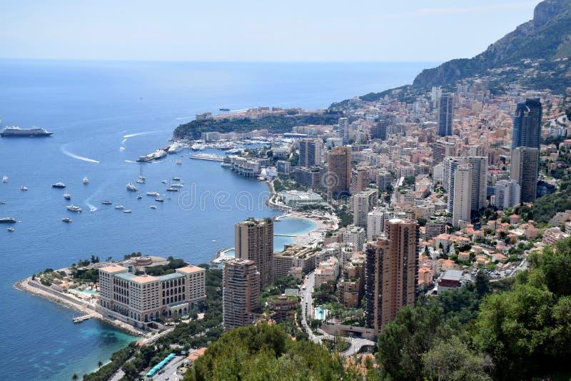 Monaco/Monte-Carlo Bay stock fotografie