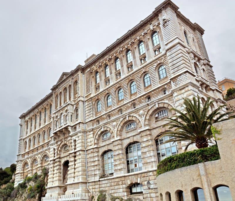 Monaco - museu Oceanographic foto de stock royalty free