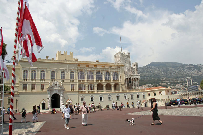 Download Monaco Palace editorial photography. Image of palace - 33819982
