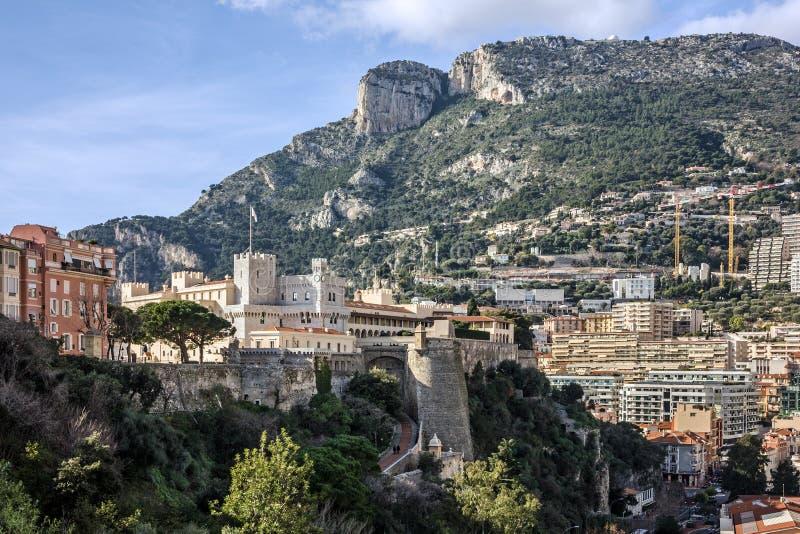 Monaco Palace, Monaco and Monte Carlo principality. Monaco Palace, Monaco and Monte Carlo principality stock images