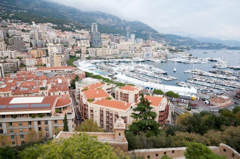 Monaco - panorama royalty free stock photo