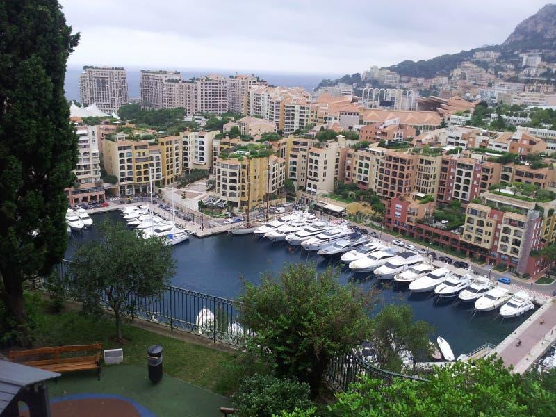 Monaco port arkivfoton