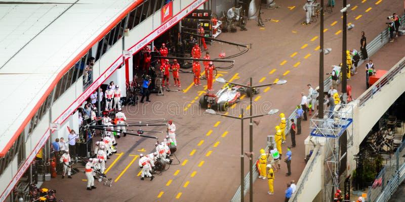 GP 2012 de Monaco fotografia de stock royalty free