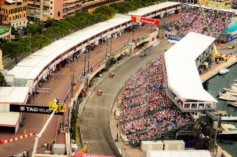 Monaco GP 2012 arkivbild