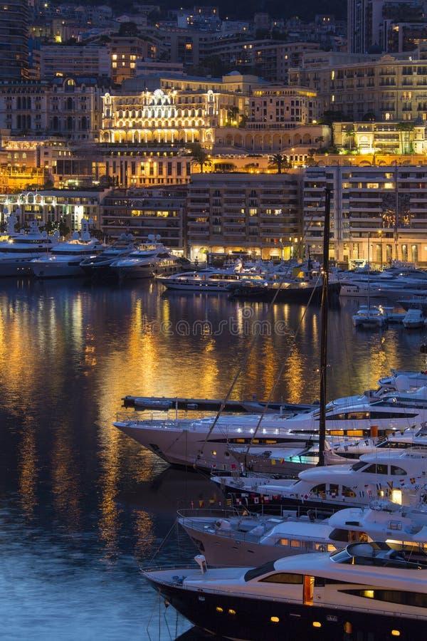 Monaco - Riviera francês foto de stock