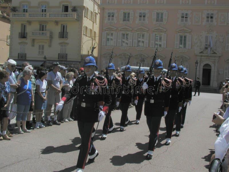 Monaco royal palace stock images