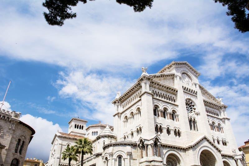 Monaco-- Sankt- Nikolauskathedrale stockfotografie