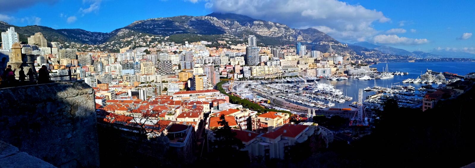 Monaco. It is a sovereign city-state and microstate, located on the French Riviera in Western Europe royalty free stock photography