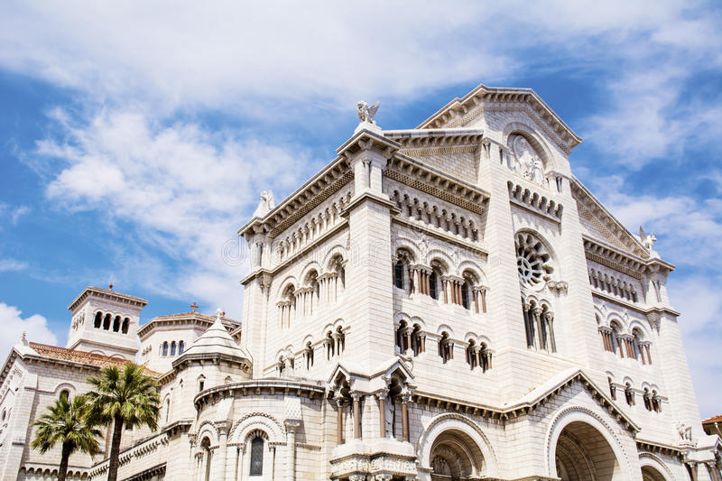 Monaco - St Nicholas Cathedral stock photos