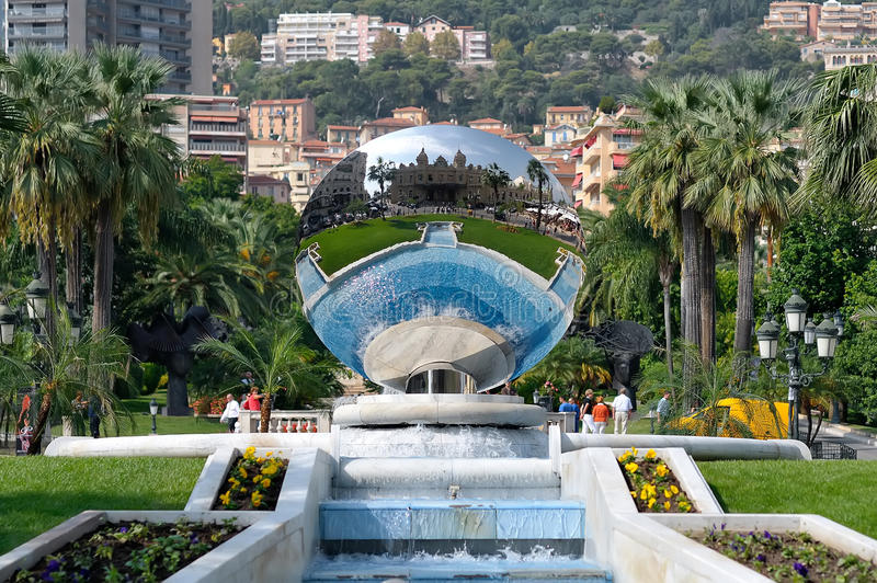 Monaco. During the summer holiday royalty free stock photo