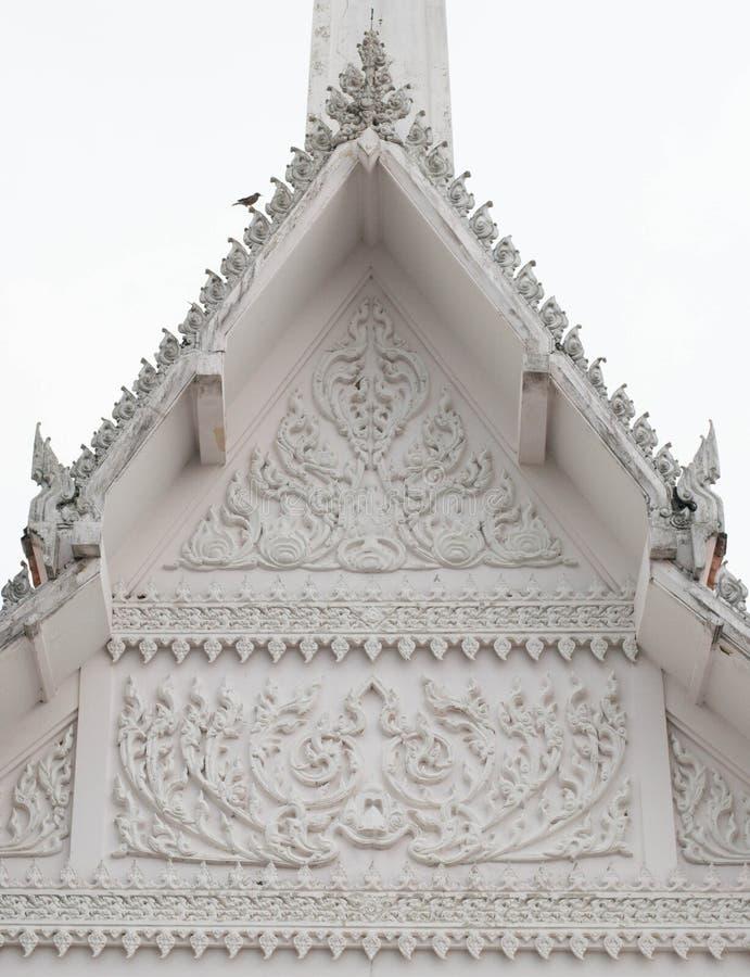 Monaco tailandese Crematory fotografie stock