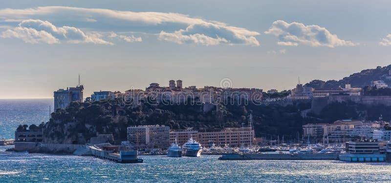 Monaco. View of Monaco Ville stock photos