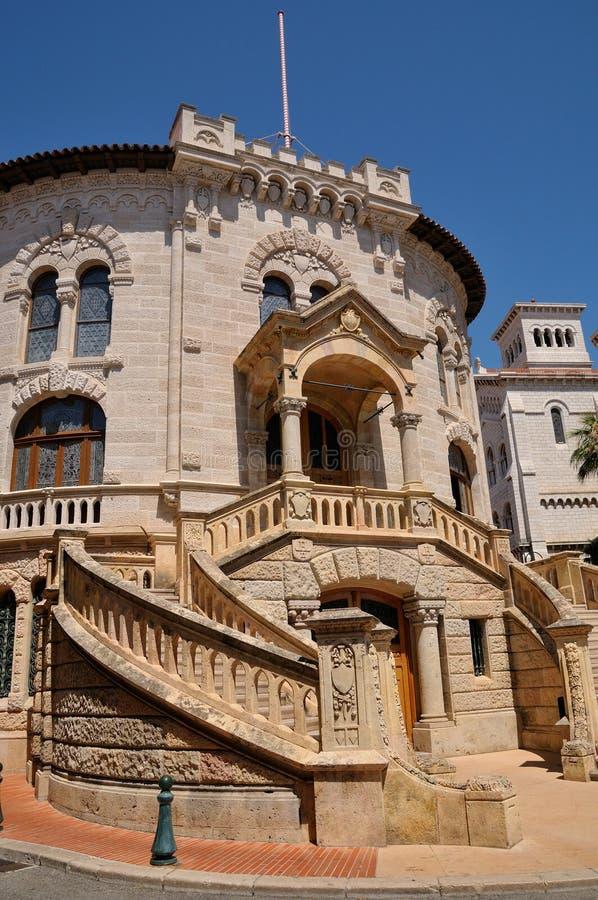 Monaco-Ville imagenes de archivo