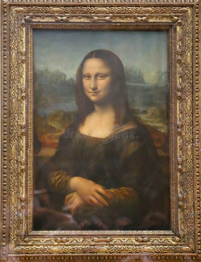 Monalisa Leonardo Da Vinci obraz royalty free