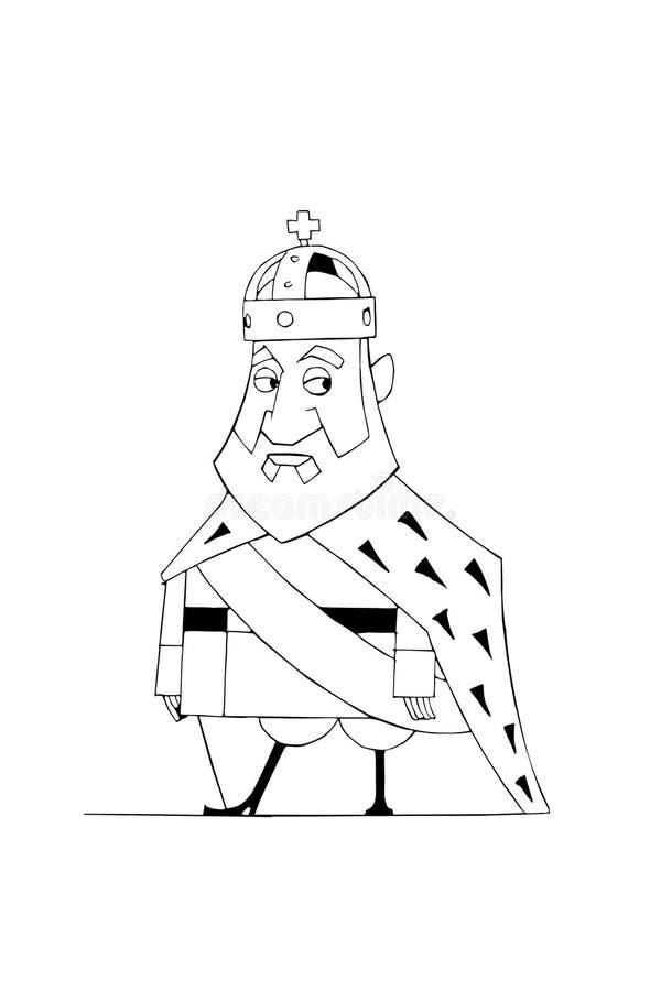 Monarca ilustração do vetor