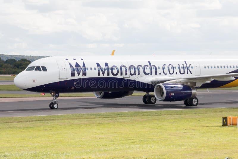 Monarca Airbus A320 imagenes de archivo