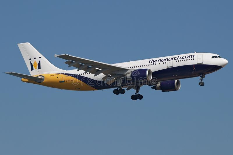 Monarch A300 royalty free stock image