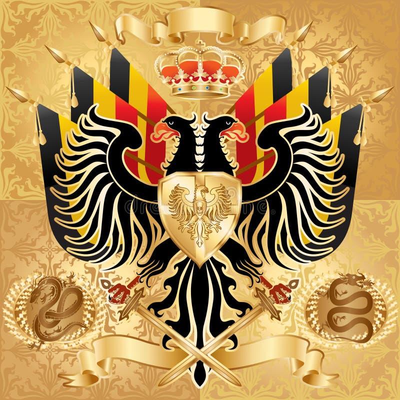 monarchia ilustracja wektor