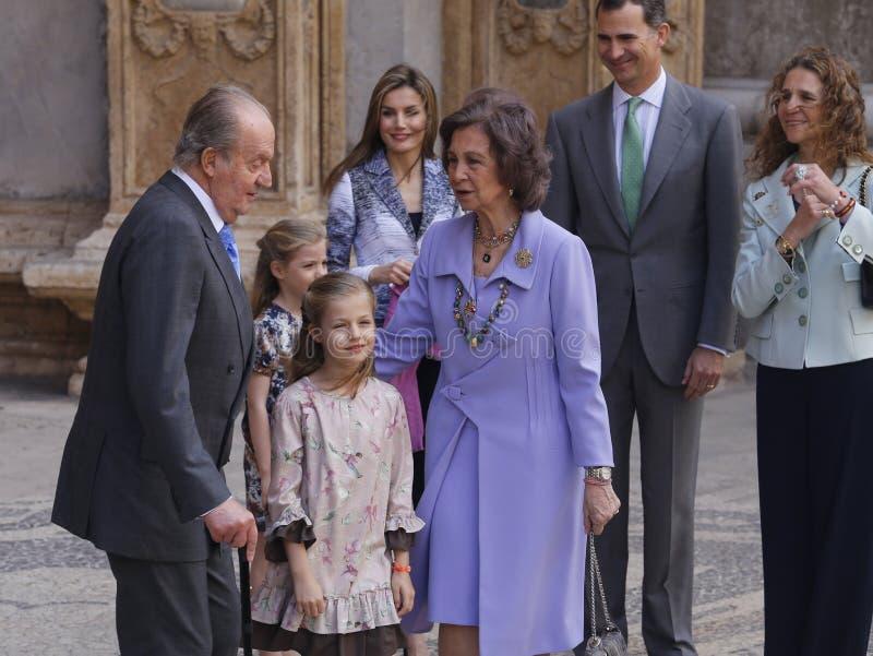 Monarchie de l'Espagne image stock