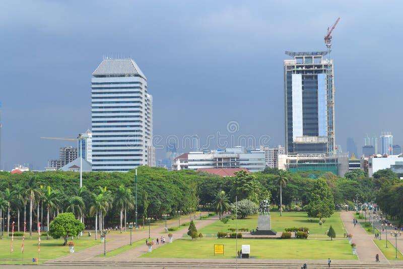 Monas, Jakarta imagens de stock royalty free