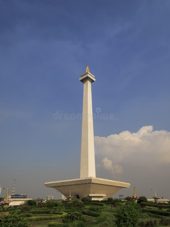 Monas, monument national de l'Indonésie à Jakarta photographie stock libre de droits