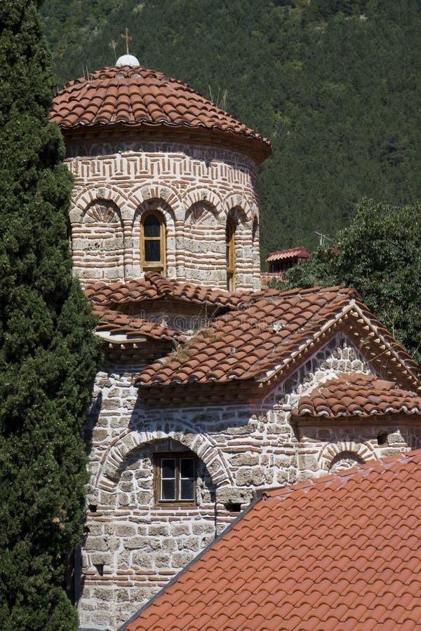Monasery di Bachkovo, Bulgaria fotografia stock