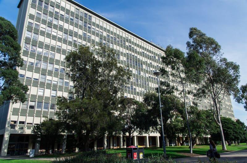 Monash uniwersytet w Melbourne fotografia royalty free