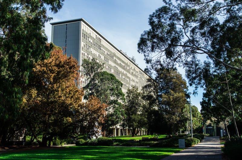 Monash uniwersytet w Melbourne obraz royalty free