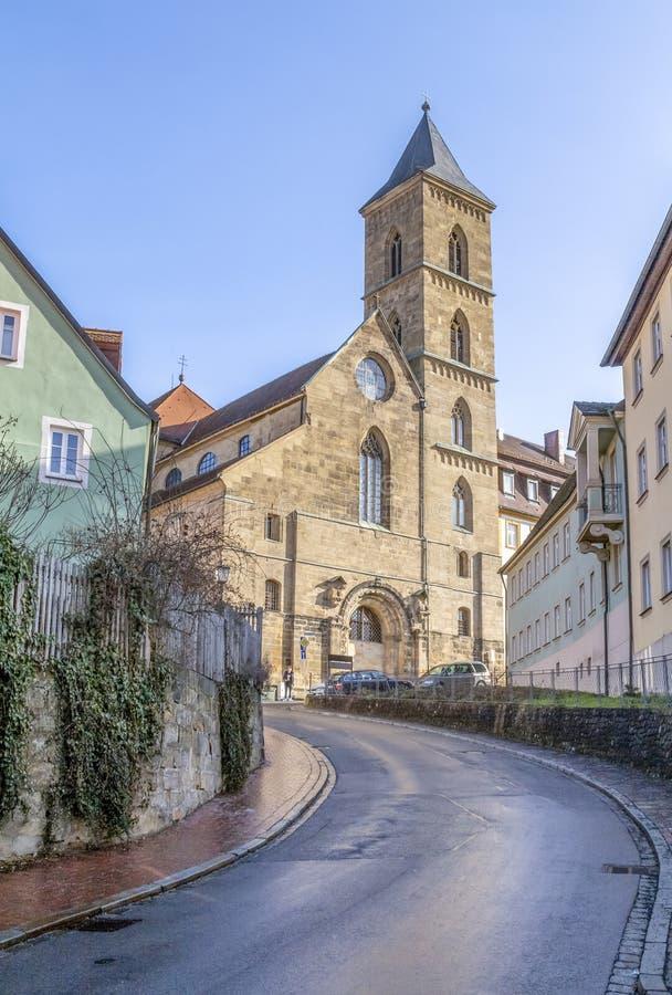 Monastère à Bamberg dans Franconia supérieur images stock