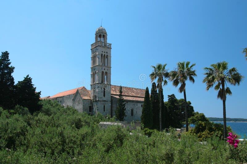 Monastère/église photographie stock