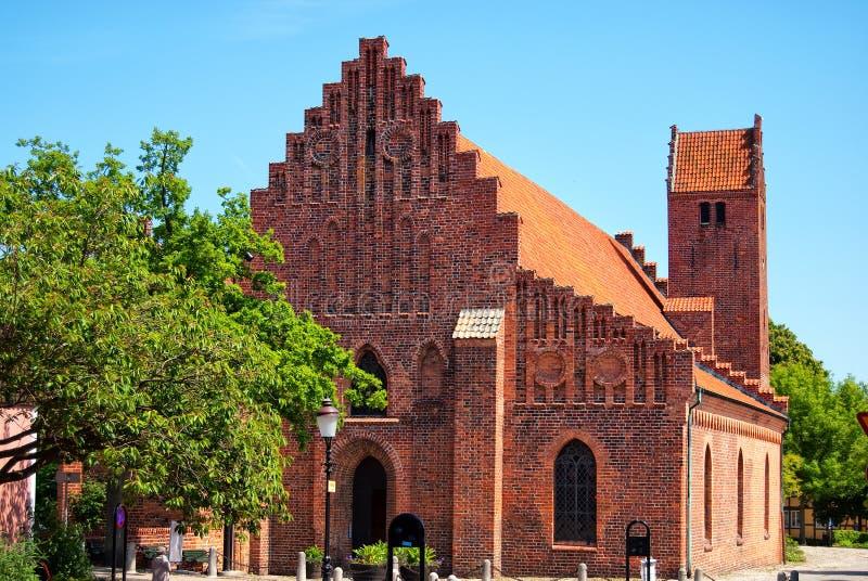Monastère 01 de Ystad photos libres de droits