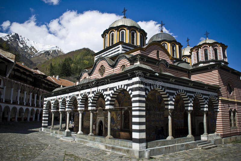 Monastère photographie stock