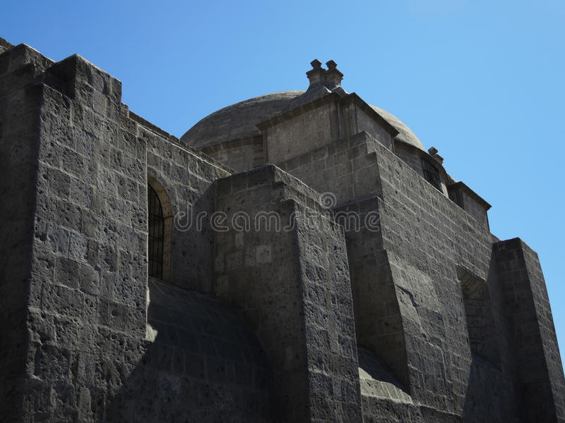 Download Monastère Antique De Santa Catalina Photo stock - Image du people, bleu: 77163086