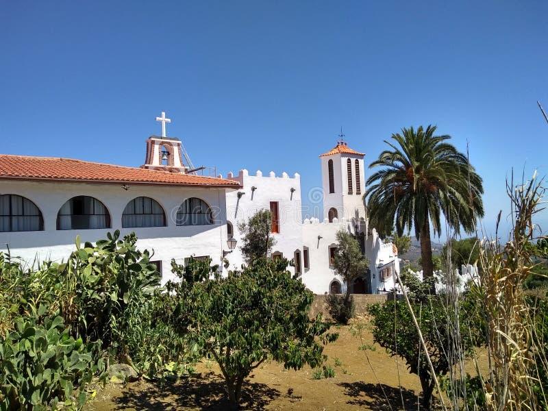 Monastère bénédictin de la trinité sainte - mamie Canaria images stock