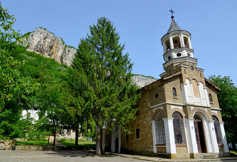 Monastère célèbre de Michael d'archange de St de Dryanovo photographie stock libre de droits