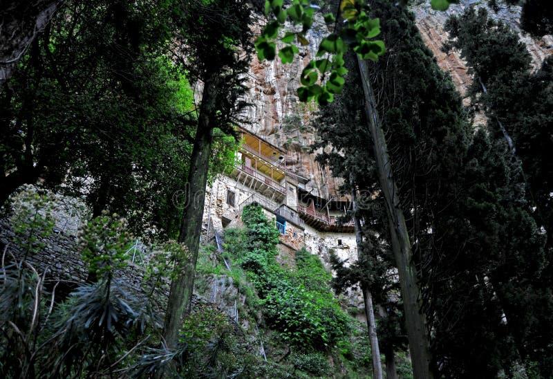 Monastère caché photos libres de droits