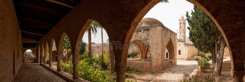 Monastère d'Agia Napa en Chypre photos libres de droits