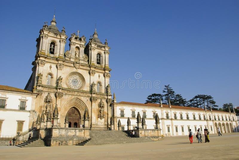 Monastère d'Alcobaca, Portugal image stock