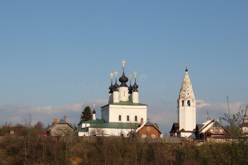 Monastère d'Alexandrovsky images stock