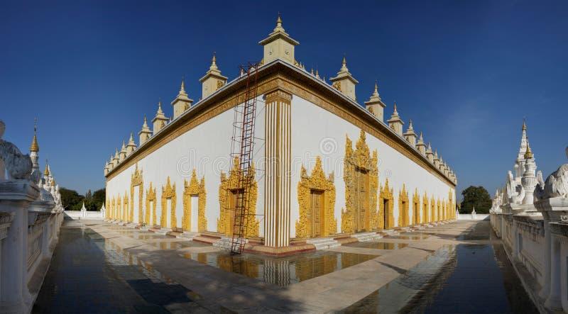 Monastère d'Atumashi, Mandalay, Myanmar images stock