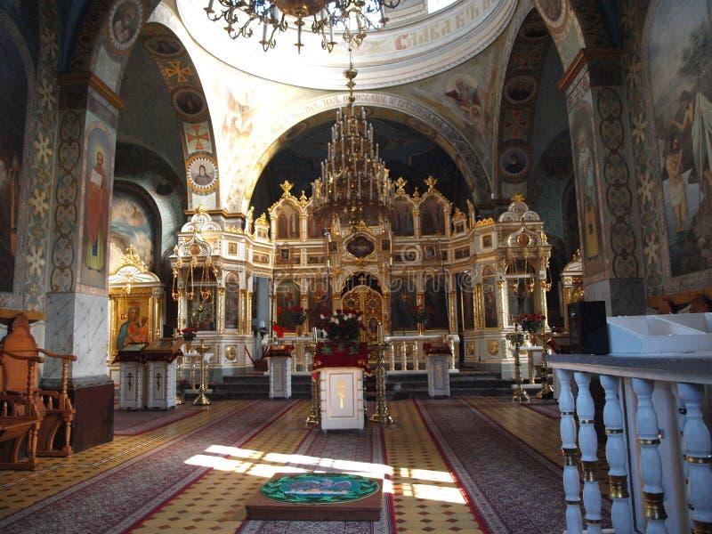 Monastère d'eczna de 'de JabÅ, Pologne photographie stock libre de droits