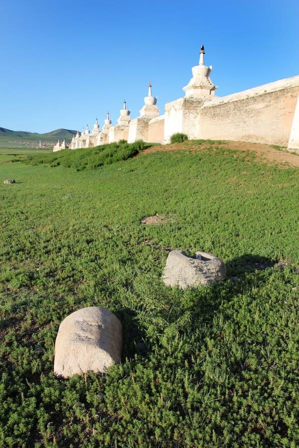 Monastère d'Erdene Zuu photo stock