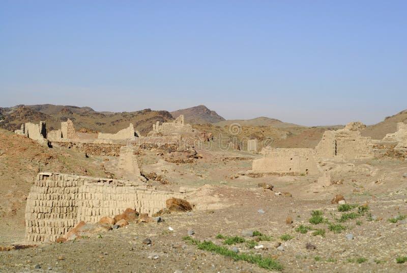 Monastère d'Ongi, Mongolie photographie stock